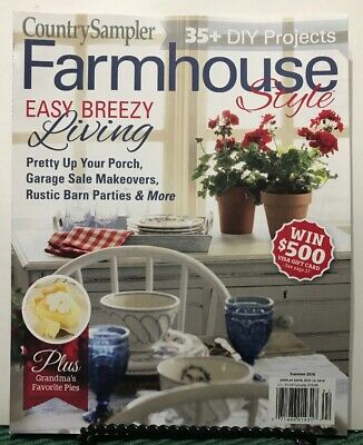Farmhouse Style Easy Breezy Living DIY Projects Summer 2019 FREE SHIPPING JB - Easy Summer Diys
