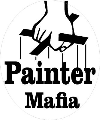 Painter Mafia Hard Hat Sticker Cpnt-13