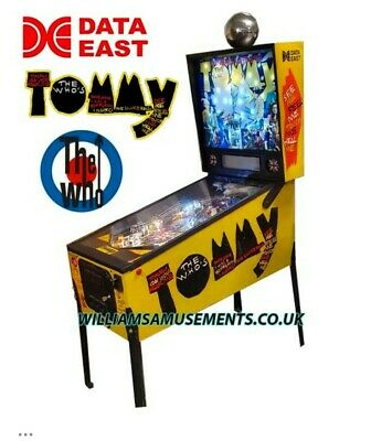 Data East TOMMY Pinball
