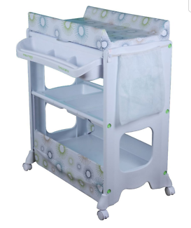 Baby bath and change table
