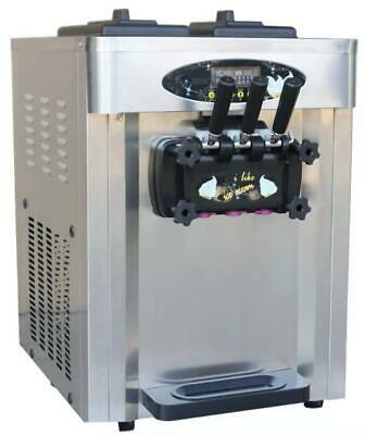 28l Three Flavor Soft Serve Ice Cream Machine Soft Ice Cream Machine 220v110v