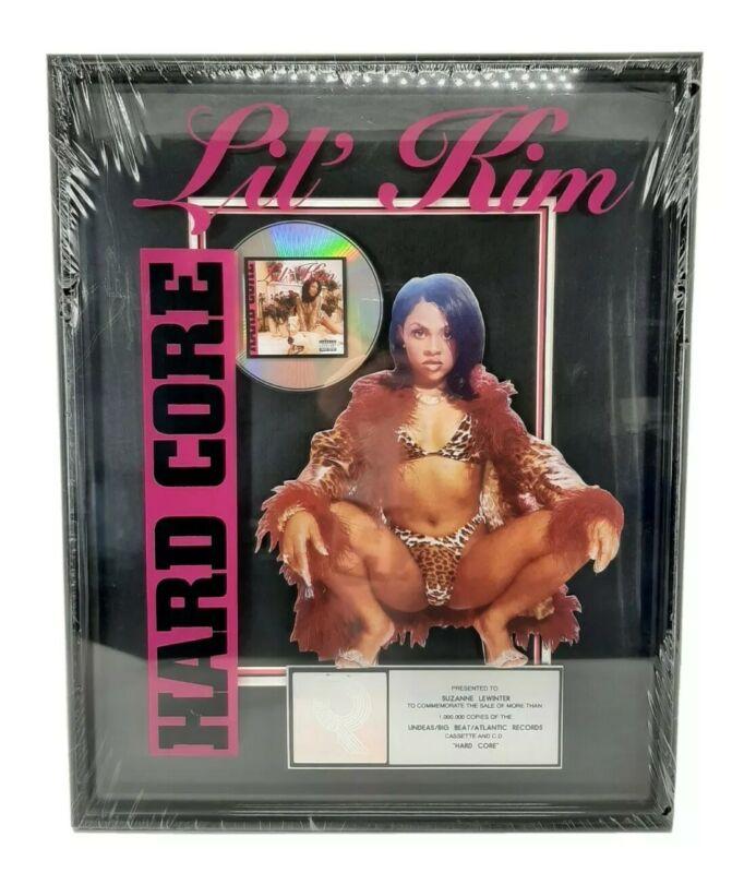 Lil Kim Authentic RIAA Platinum Album Record Sales Plaque Award Hardcore 1996