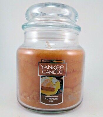 Medium Pumpkin - Yankee Candle Pumpkin Pie Scented Candle 14.5 oz Medium Jar FREE PRIORITY
