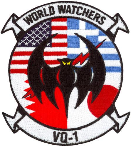 USN FLEET AIR RECONNAISSANCE SQUADRON ONE (VQ-1) – WORLD TOUR PATCH
