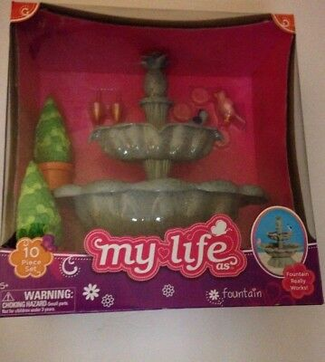 My Life as Doll Water Fountain 10pc American Girl Our Generation Accessory