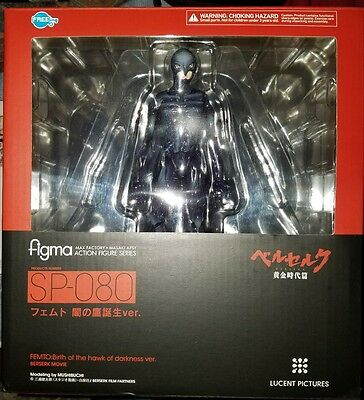 Max Factory Figma Berserk Femto Birth of the Hawk darkness In hand authentic USA