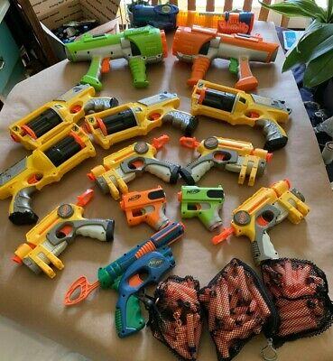 WoW Massive Lot of Nurf Guns & Darts Lazer Tag Tek Toy Weapons Very Nice ](Nurf Guns)