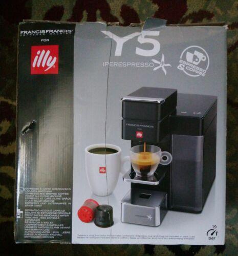 nib y5 duo espresso and coffee machine