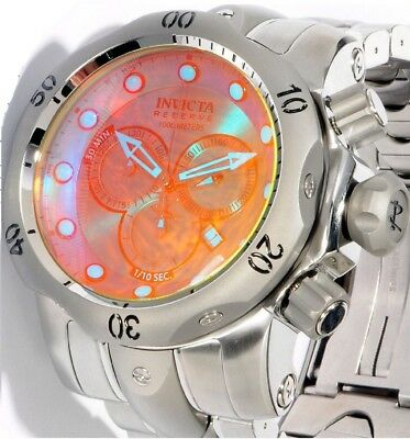 @NEW Invicta Reserve Men's 52mm Venom Swiss Movt Chronograph Tinted Crystal 0967