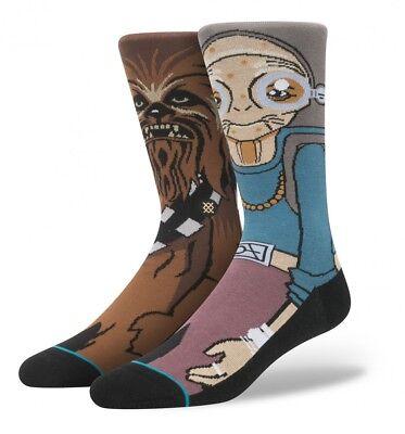 Stance X Star Wars Kanata Chewbacca Crew Socks Medium Men's Size 6-8.5