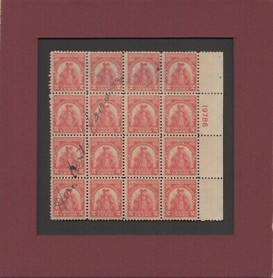 Herbert Hoover - 31st U.S. President - Autographed Stamp Block in Matte