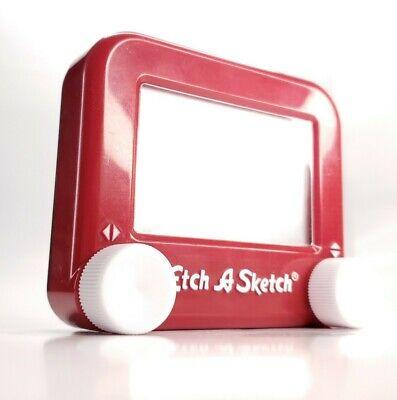Pocket Etch A Sketch - Mini Small Red Etch-A-Sketch Magic Drawing Toy Ohio Art