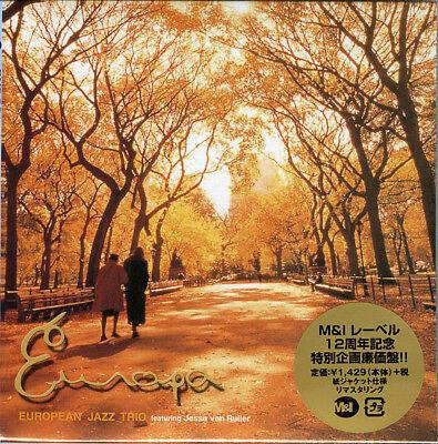 EUROPEAN JAZZ TRIO-EUROPA-JAPAN MINI LP CD Ltd/Ed C75 ()