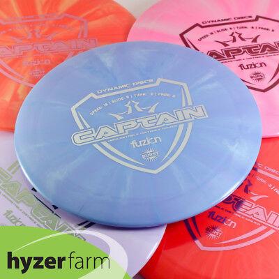 Dynamic Fuzion Burst Captain  Pick Weight   Color  Hyzer Farm Disc Golf Dri