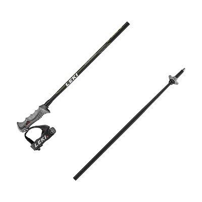 Leki Speed S / 14 mm Rohr - Unisex Skistöcke mit Trigger S - schwarz/grün