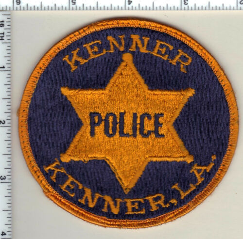 Kenner Police (Louisiana) uniform take-off patch  from 1990