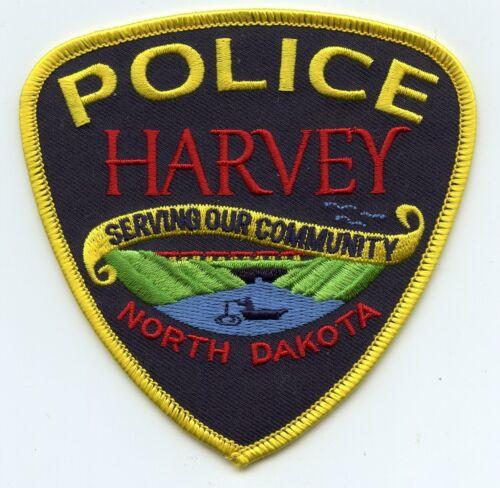 HARVEY NORTH DAKOTA ND Serving Our Community POLICE PATCH