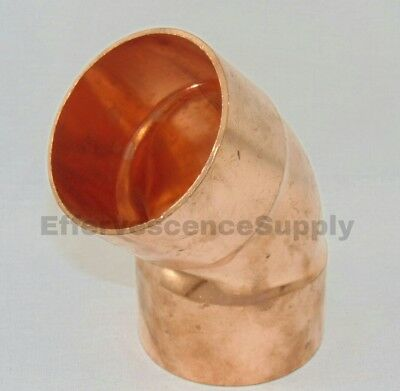 4 Copper 45 Elbow - Mueller Copper Fittings
