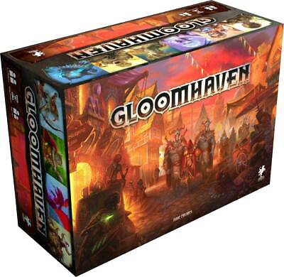 Gloomhaven Board Game SEALED UNOPENED FREE SHIPPING