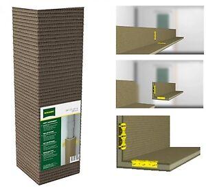 rohrkasten l 20x20 x120 bauplatte hartschaum. Black Bedroom Furniture Sets. Home Design Ideas