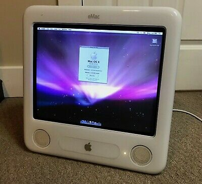 "Apple eMac 17"" A1002 2005 1.42GHz/2GB/80GB/9600/AirPort - Hard To Find, Upgraded"