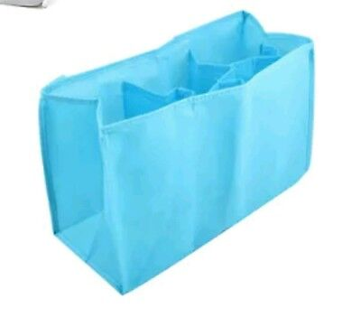 Brand New Baby Nappy Bag Organiser with Pockets in Blue