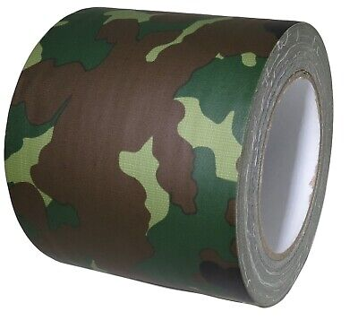 T.r.u. Industrial Duct Tape. Waterproof Uv Resistant Camouflage 4 In X 25 Yd.