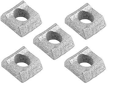 FIVE (5) Mobile Home Axle Trailer Wheel Rim Clamp Block Wedge Lowboy hub Utility