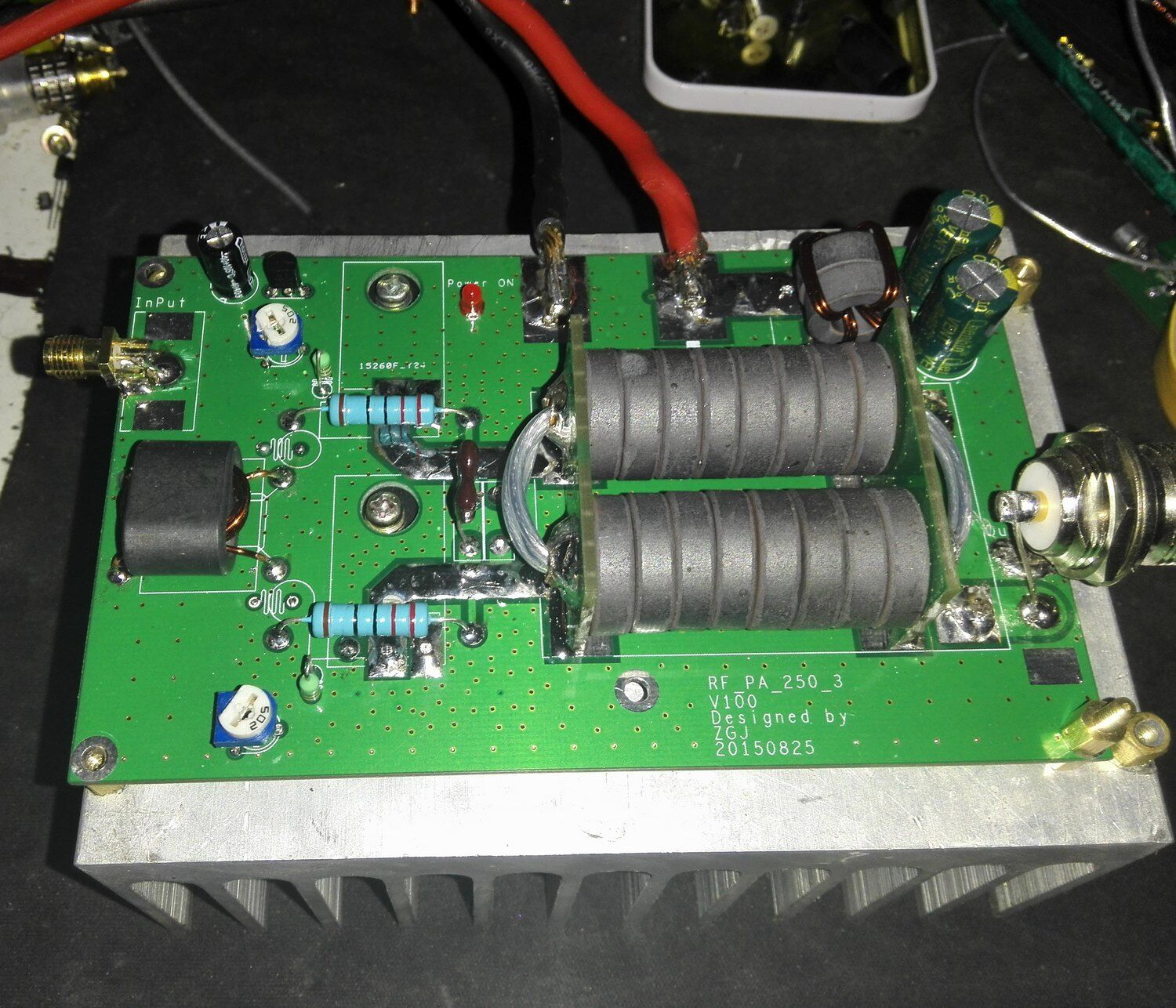 Amateur high frequency linear amplifiers