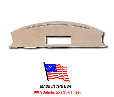 Beige Carpet Dash Mat Compatible with 2007-2015 Ford Expedition Dash Cover
