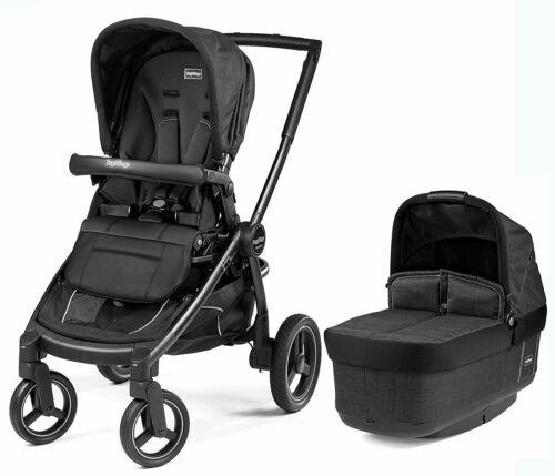 Peg Perego Team Stroller- Onyx-Stroller Seat/Bassinet/Chassis  NEW