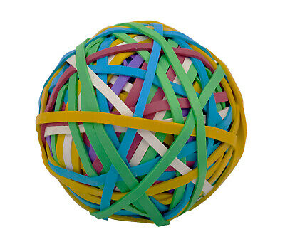 Alliance Rubber Company 00159 2.5 Multi-colored Rubber Band Ball 250 Count Ball