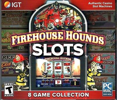 Computer Games - Firehouse Hounds Slots PC Games Windows 10 8 7 XP Computer Games slot machines