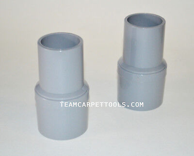 Carpet Cleaning Vacuum Hose Swivel Cuffs Connectors 1.5 Inches Grey Cuffs 2 Ct