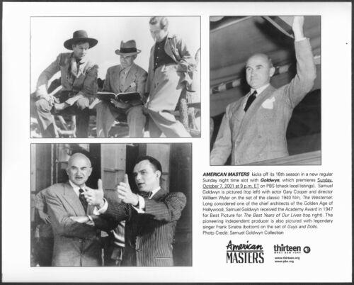 ~ Samuel Goldwyn Original PBS TV Promo Photo Frank Sinatra Gary Cooper Wyler