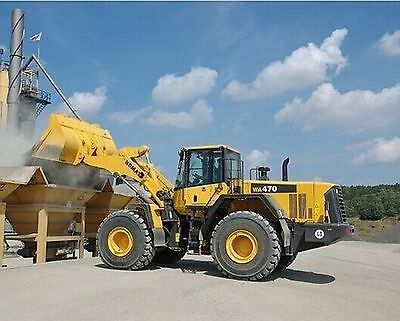 Komatsu WA470-6 & WA480-6 Wheeled Loader Workshop Manual