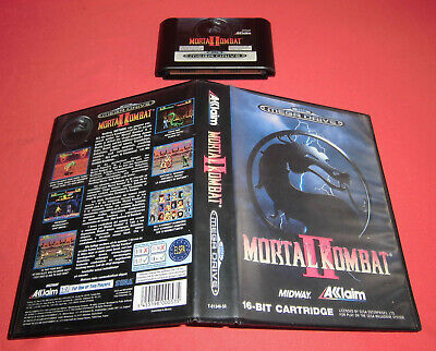 Megadrive 1 & 2 Mortal Kombat II [PAL]  Sega *JRF*