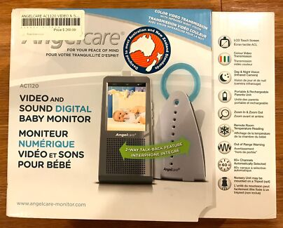 Angelcare Baby Monitor - Video & Sound AC1120
