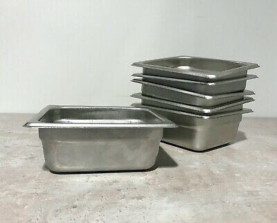 16 Size 2.5 Deep Anti-jam Stainless Steel Steam Table Hotel Pan 12pack