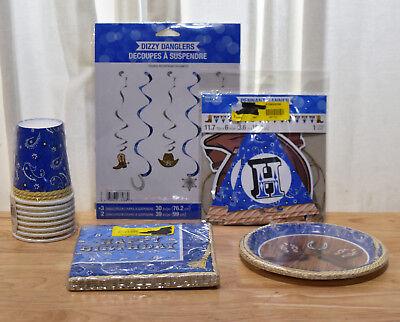 Country Western Blue Bandana Cowboy Birthday Decorations Supplies - Variety!](Cowboy Birthday Supplies)