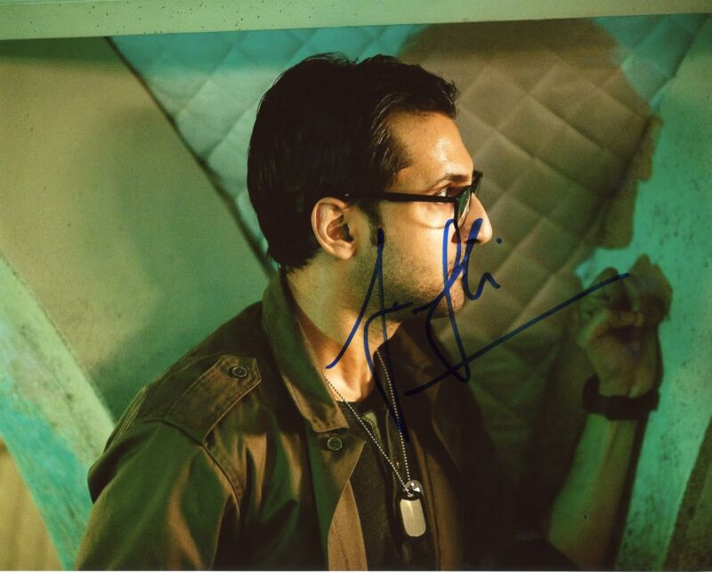 "Arsher Ali ""Doctor Who"" AUTOGRAPH Signed 8x10 Photo D"