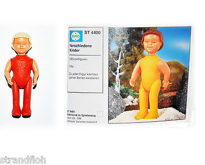 Puppenkinder  Ferrero 1984 - Strampler rot Haare blond