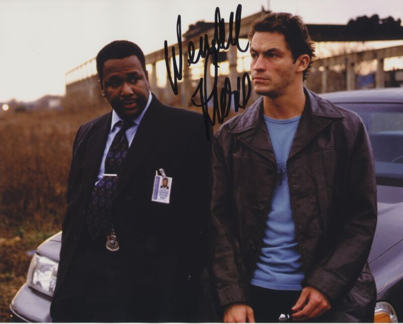 WENDELL PIERCE SIGNED THE WIRE 8X10 PHOTO 3