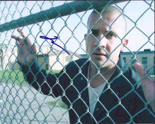 Dominic Purcell Signed Autographed 8x10 Photo The Flash Prison Break Ab