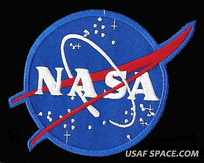 "AUTHENTIC NASA VECTOR AB Emblem 5.5"" SPACE PATCH - MADE IN USA"