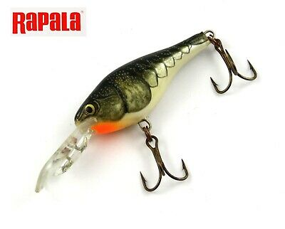 Rapala Shad Rap Rattle Shad //// SRRS04 //// 4cm 5g Fishing Lures Various Colors