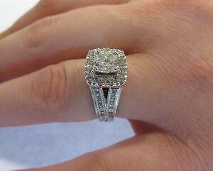 2.11 CTW NEIL LANE WEDDING ENGAGEMENT RING  KAY LIFETIME PAID GUARANTEE ($8900 +