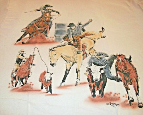 "American Sport Horse T-shirt "" Natural "" SM ( 34 ~ 36 )"