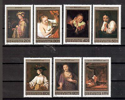 Mongolei Michelnummer 1398 - 1404 postfrisch (Kunst 550 )