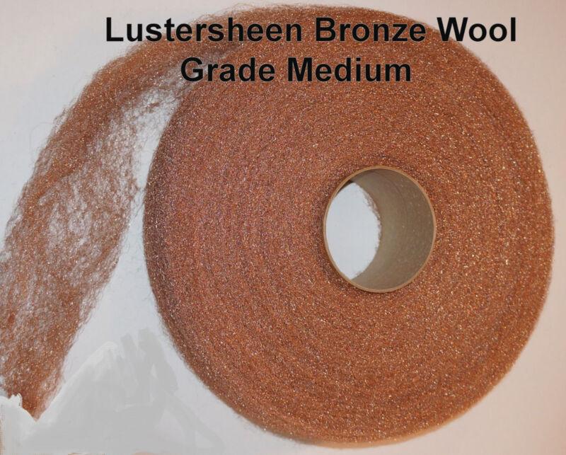 Bronze Wool 5lb Reel - Medium